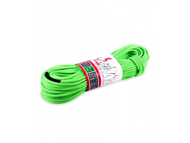 Fixe Dominator SPD Rope 9,2mm x 70m, neon green/white